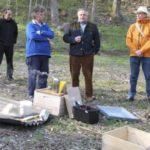 Bienengarten in der Kreisstadt eingerichtet